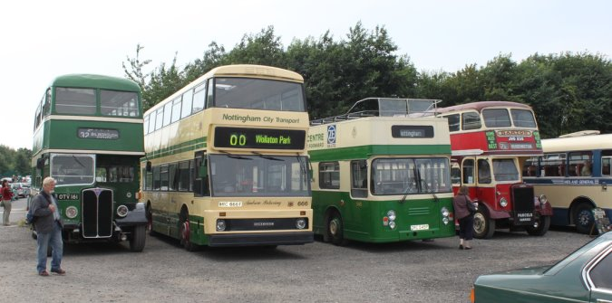 Part of our Heritage Transport Fleet
